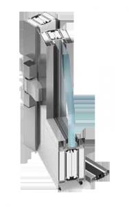 plastové okno Protipožární systém  MB-78EI